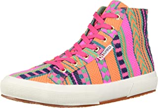 Superga Women's 2795 ARTESAW Sneaker, Pink neon