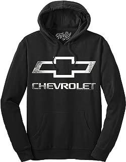 Tee Luv Chevrolet Logo Hoodie - Officially Licensed Chevy Hooded Sweatshirt