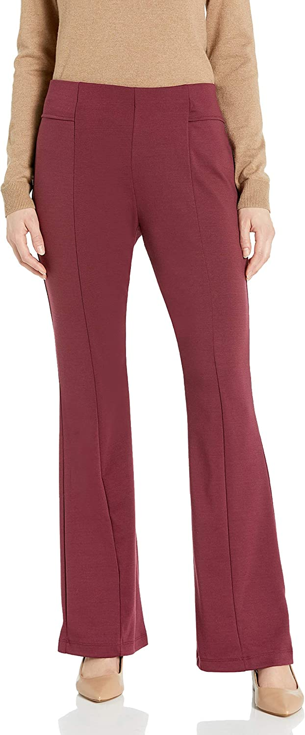 NY Collection Women's Solid Palazzo Pant
