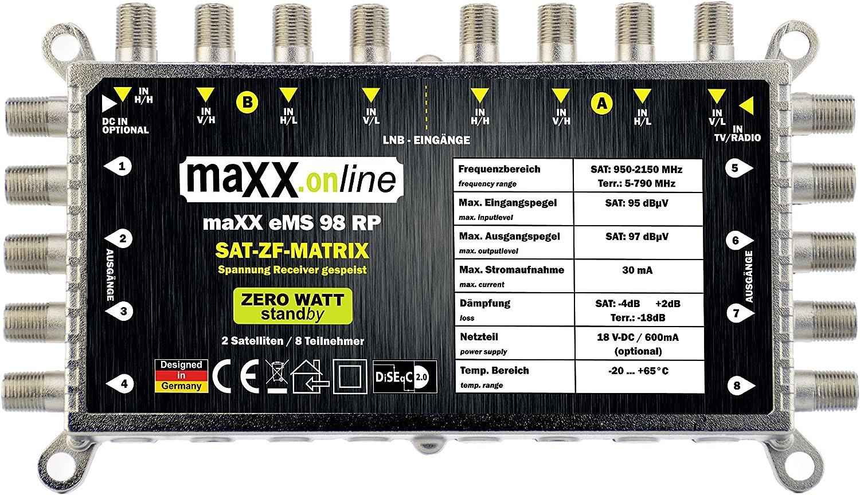 Maxx Online Netzteil Mit F Anschluss Stecker Für Elektronik
