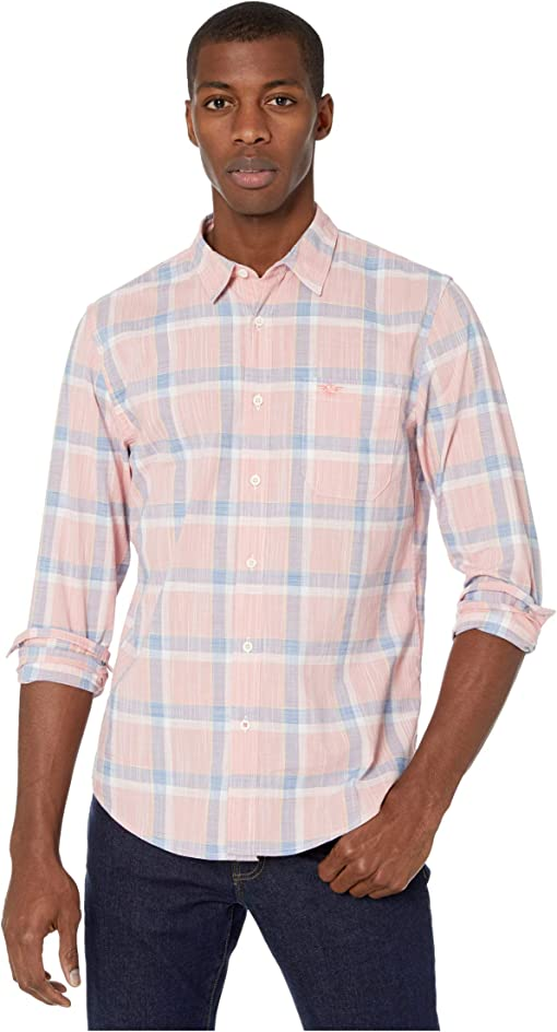 Muted Red/Glen Plaid