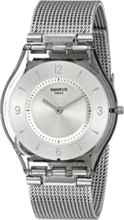 Women's SFM118M Quartz Stainless Steel Silver Dial Casual Watch