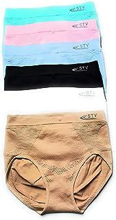 Blanc VIccoo Femmes Adolescentes Filles Taille Haute Coton Menstruel Sanitaire sous-V/êtements Mignon Dessin Anim/é Animal Imprim/é Slip Bowknot D/écor Culotte P/ériode P/ériode 3 Couleurs