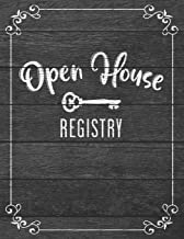 Open House Registry: Up To 600 Unique Entries - Realtor Broker And Agent Visitor Guest Book And Log - Open House Registrat...