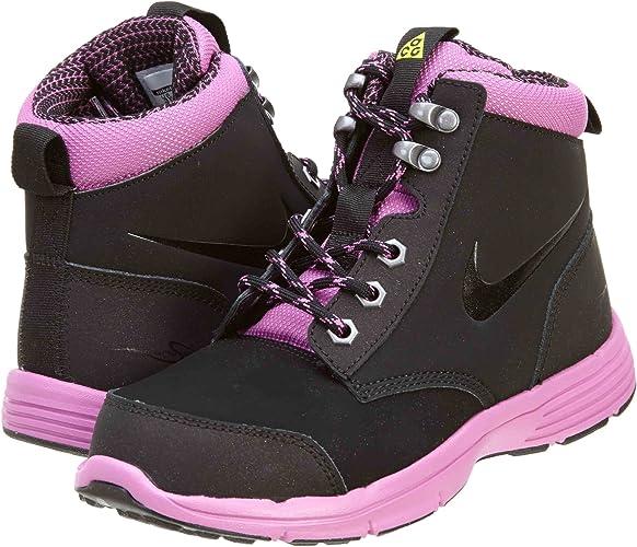 NIKE DF Jack démarrage Peu Enfants Style chaussures 536080, noir violet Metallic Dark gris noir, 2.5
