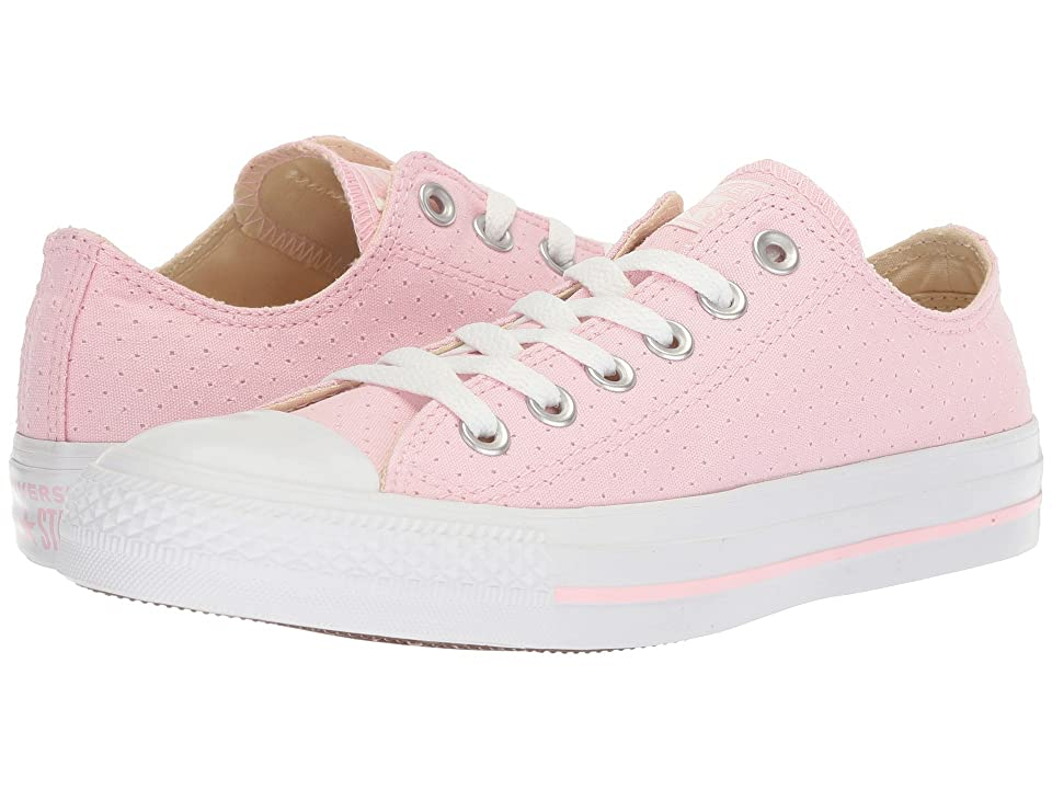 Converse Chuck Taylor(r) All Star(r) Ox Perf Canvas (Cherry Blossom/White/White) Women