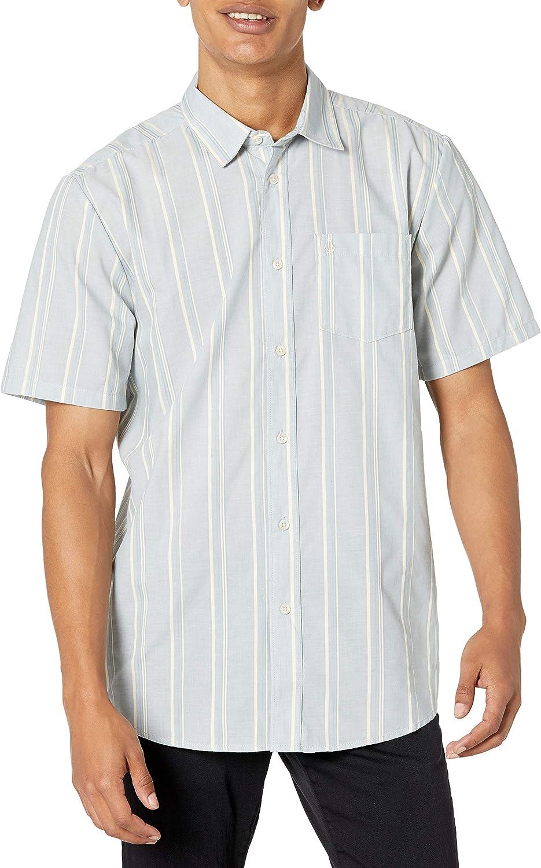 Volcom Men/'s Pro Party Short Sleeve T Shirt White Clothing Apparel Skateboard...