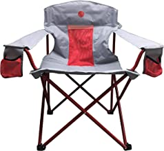 OmniCore Designs New Standard XXL Big & Tall Super Heavy Duty Padded Mesh Folding Camping Chair with Easy Stuff Carry Bag (500 Lbs Capacity)