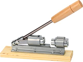 8milelake Desktop Wood and Metal Walnut or Pecan Heavy Duty Nut Cracker Gadget Tool
