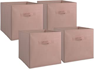 DII Fabric Storage Bins for Nursery, Offices, & Home Organization, Containers Are Made To Fit Standard Cube Organizers(11x11x11