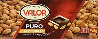 comprar comparacion Chocolates Valor - Choholate Puro Almendras con Marconas Enteras - 250 g