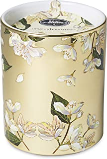 Charming Charlie Doftande aromaterapiljus med keramisk kopp – dekorativ hemaccent, lugnande lavendeldoft – 510 ml