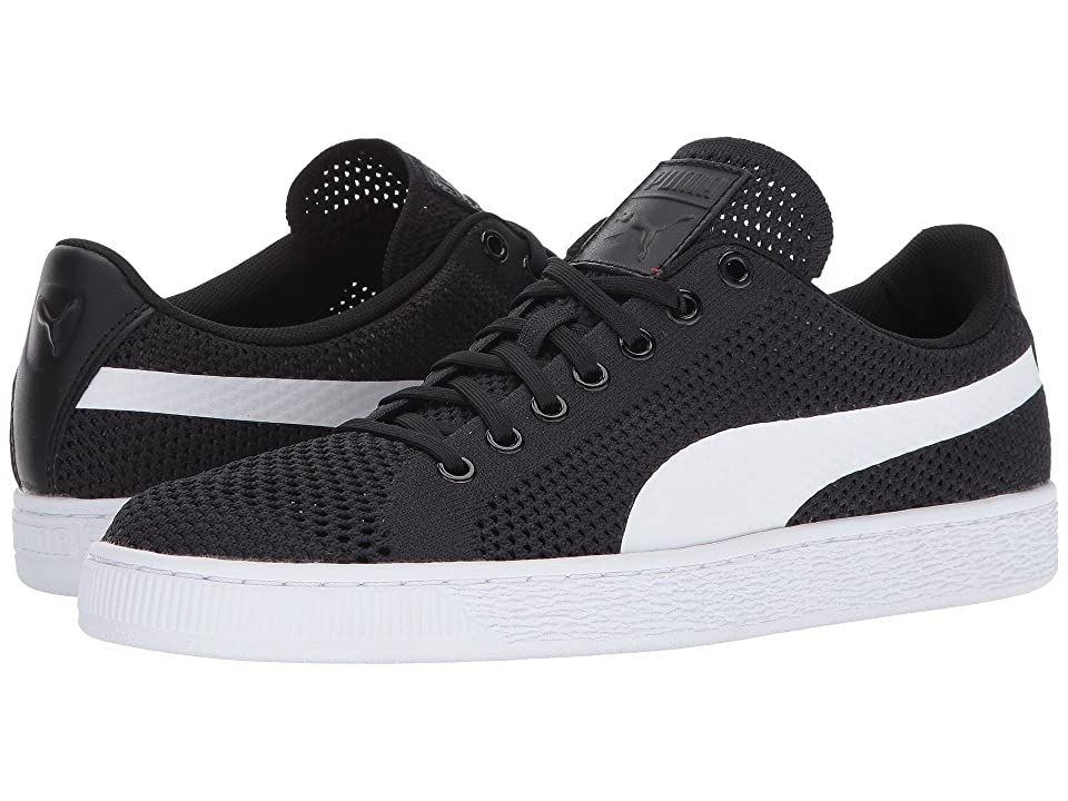 PUMA Basket Classic Evoknit (Puma Black/Puma White) Men