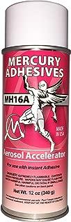 Mercury Adhesives MH16A Aerosol Accelerator for CA 12oz