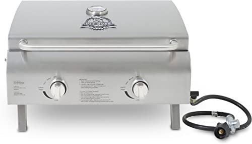 Pit-Boss-Grills-75275-Stainless-Steel-Two-Burner-Portable-Grill
