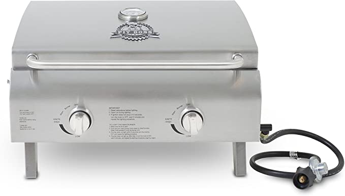 Pit Boss Grills 75275 Stainless Steel Two-Burner – Best Folding Gas Grill
