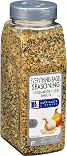 Best McCormick Culinary Everything Bagel Seasoning, 21 oz - One 21 Ounce Container of Everything Bagel Seasoning Blend of Poppy Seed, Sesame Seed, Garlic, Onion and Salt Review