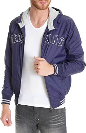 Redskins Men's Track Jacket bluee bluee
