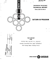 Flexible hose, 3/4-inch I.D., 300-PSIG, AEROQUIP Corporation part number AE700480-20, NASA part number 75M12944 FFH-20 Test report