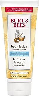 Burt's Bees® Natural Moisturising Milk and Honey Body Lotion – 1 x Tube 170 grams