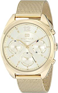 Tommy Hilfiger Womens Quartz Watch, Analog Display and Stainless Steel Strap 1781488