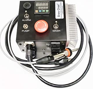 120v Desktop Electric Mash Tun/RIMS (Recirculating Infusion Mash System) Tube Controller with Pump Control