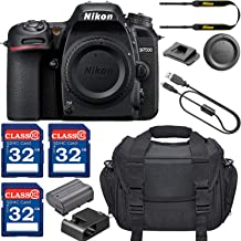 Nikon D7500 DSLR Camera (Body Only) with 3 Memory Card Bundle