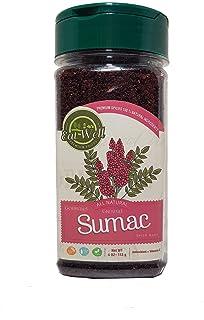 Best Eat Well Premium Food - Sumac Spice Powder 4 oz 113 g, Ground Sumac Berries, Turkish Sumac Seasoning, Middle Eastern Spices Review