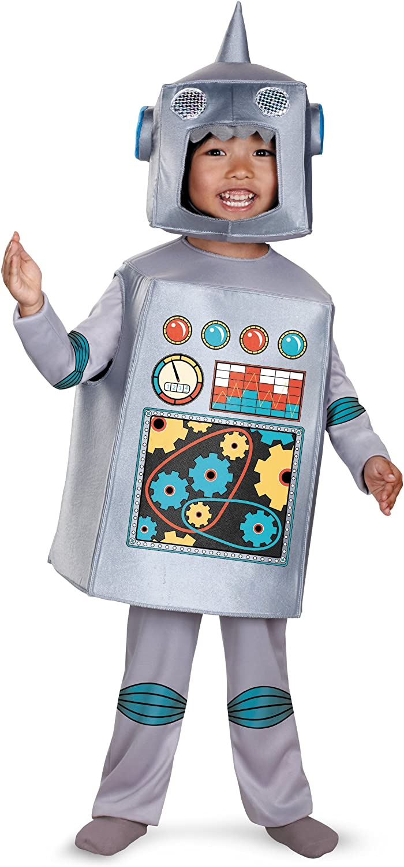 Costume Halloween Robot.Amazon Com Disguise Artsy Heartsy Retro Robot Costume Toys Games