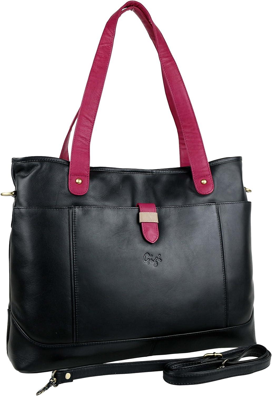GIGI Women'S Leather Shoulder Work Bag
