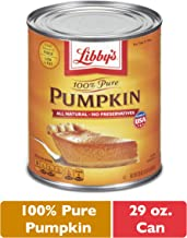 Nestle LIBBY'S 100% Pure Canned Pumpkin Puree, 29 oz. Can