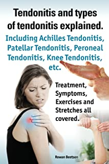 Tendonitis and the different types of tendonitis explained. Tendonitis Symptoms, Diagnosis, Treatment Options, Stretches and Exercises all included.