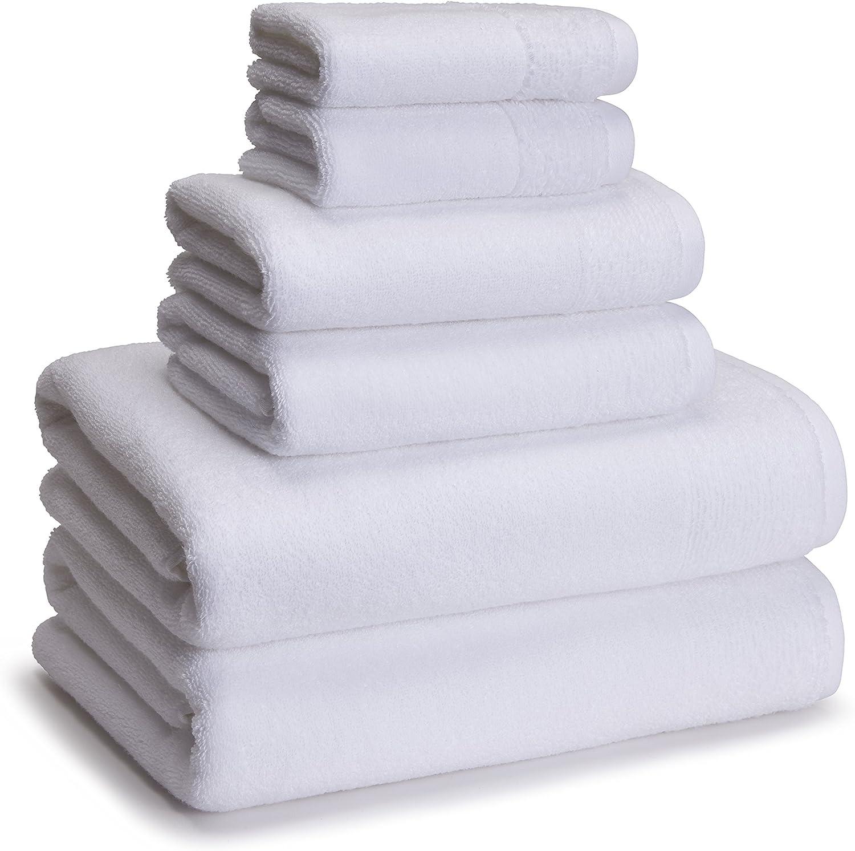 Kassatex White KYT-256-W Kyoto Super-cheap Towel 5 ☆ very popular of Set Piece 6