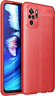 RanTuo Case for Samsung Galaxy F12, Anti-Scratch, Soft Silicone, Shockproof, Cover for Samsung Galaxy F12.(Red)