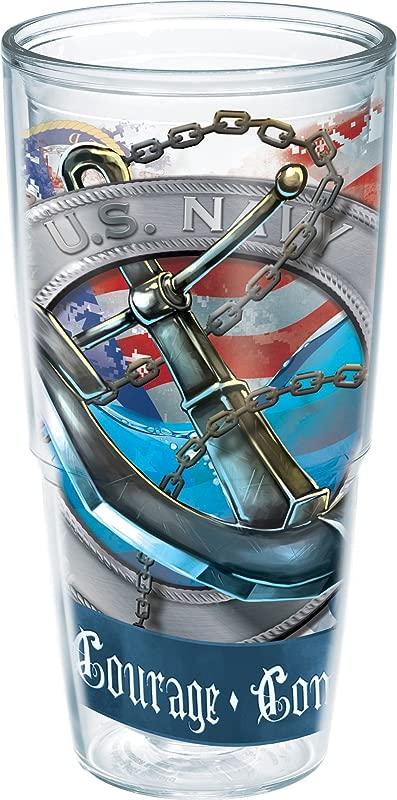 Tervis 24 Oz US Navy Anchor Tumbler 24 Oz Water Bottle