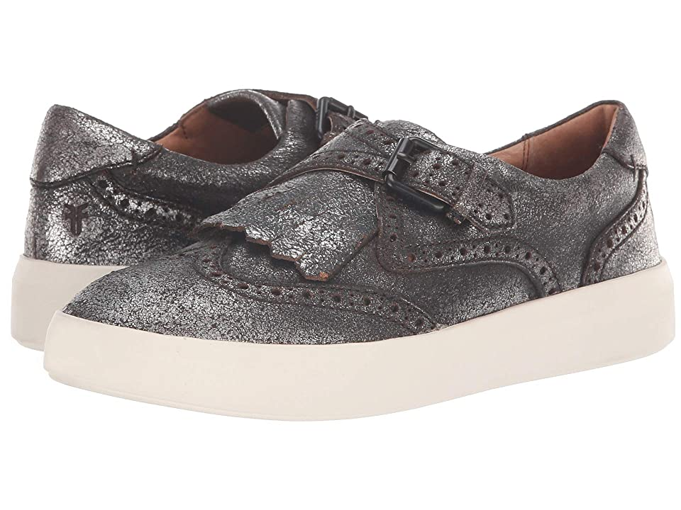 Frye Brea Kiltie (Anthracite Metallic Brush-off) Women