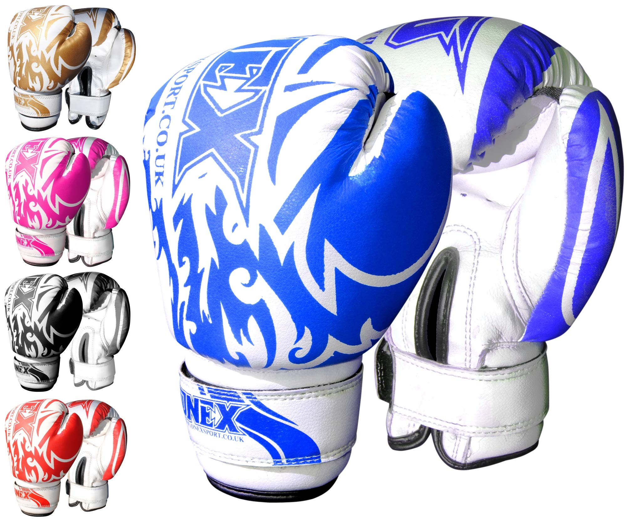 Kids Boxing 6oz Gloves Punch Training MMA Martial Arts Sparring Bag Mitt