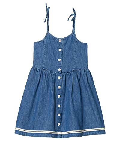 Polo Ralph Lauren Kids Denim Fit-and-Flare Dress (Little Kids) (Laurens Wash) Girl