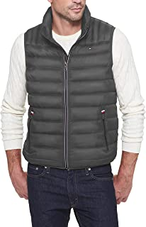 Men's Big and Tall Lightweight Down Quilted Puffer Vest