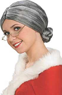 Rubies Costume Characters Old Lady / Mrs. Santa Wig