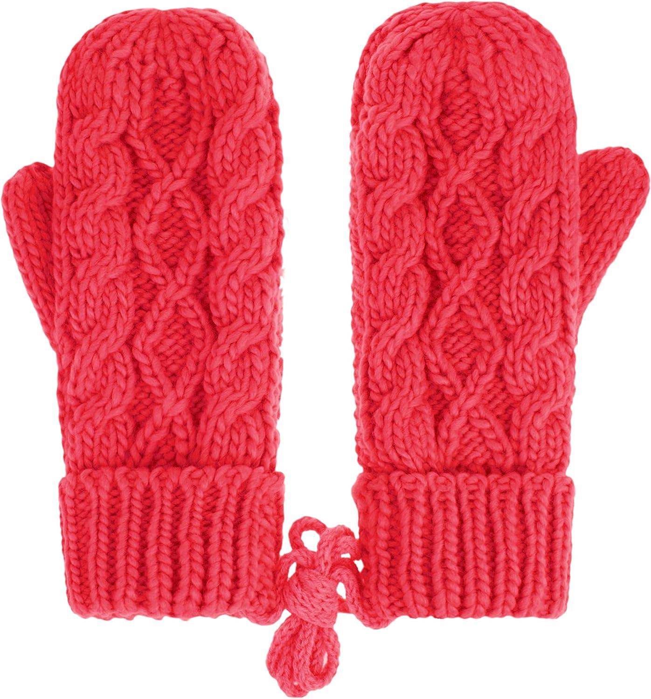 IL Caldo Womens Winter Glove Hemp Plush Lining Thick Knit Mitten Drive Work Gloves