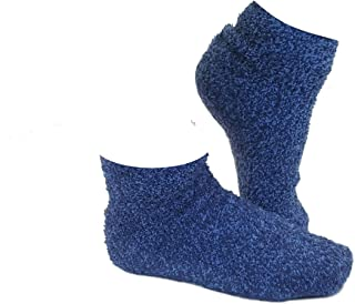 Heated Bed Socks for Women- Cozy Microwaveable Slippers - Cold Feet Solution!