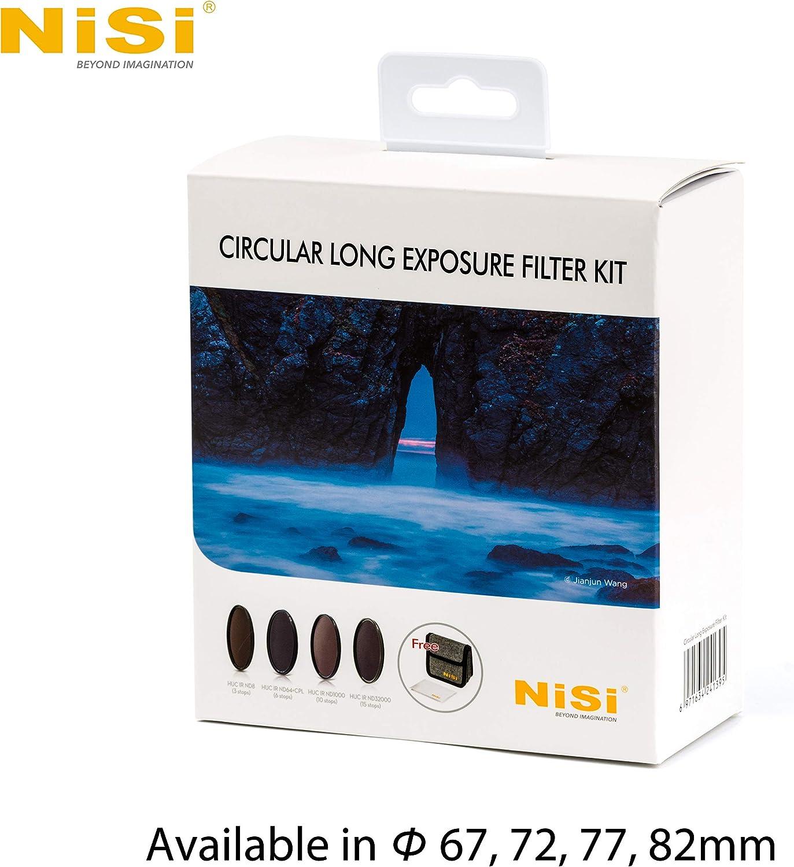 NiSi Kit de Filtres Circulaires D/ébutant 77mm.Inclus Pochette de Transport 1x UV HUC 1x CPL HUC