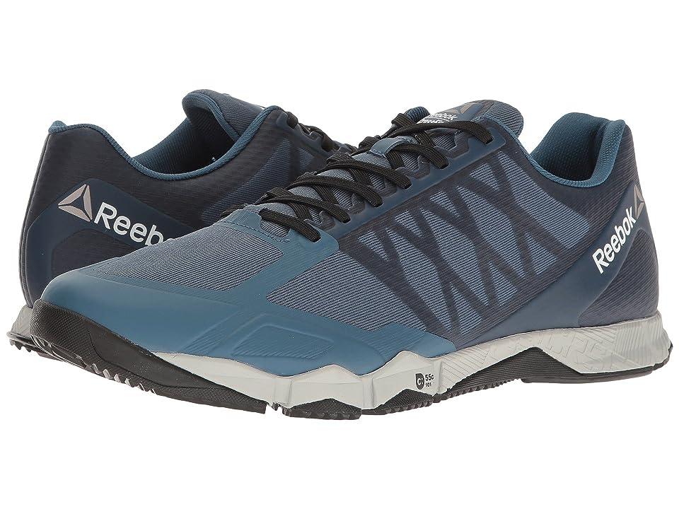 Reebok Crossfit(r) Speed TR (Brave Blue/Skull Grey/Black/White/Pewter) Men