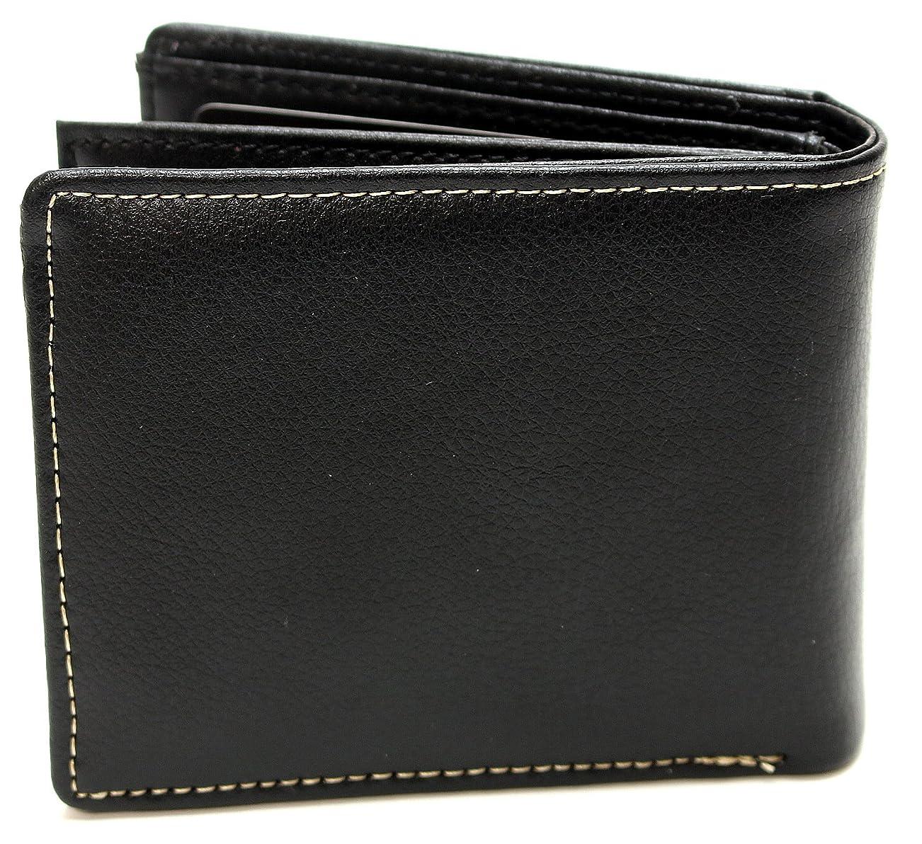 クレーンルーフ見分ける[メンズ カンパニー] ステッチライン 牛革 ベラ付き 二つ折り財布 2 」 あると嬉しいカードホルダー付き 二つ折り財布 カード入れ 牛革 財布 札入れ