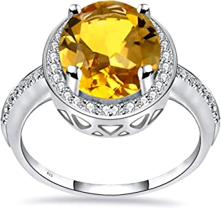 خاتم من الفضة الإسترلينية 925 للنساء من أوركيد جويلري