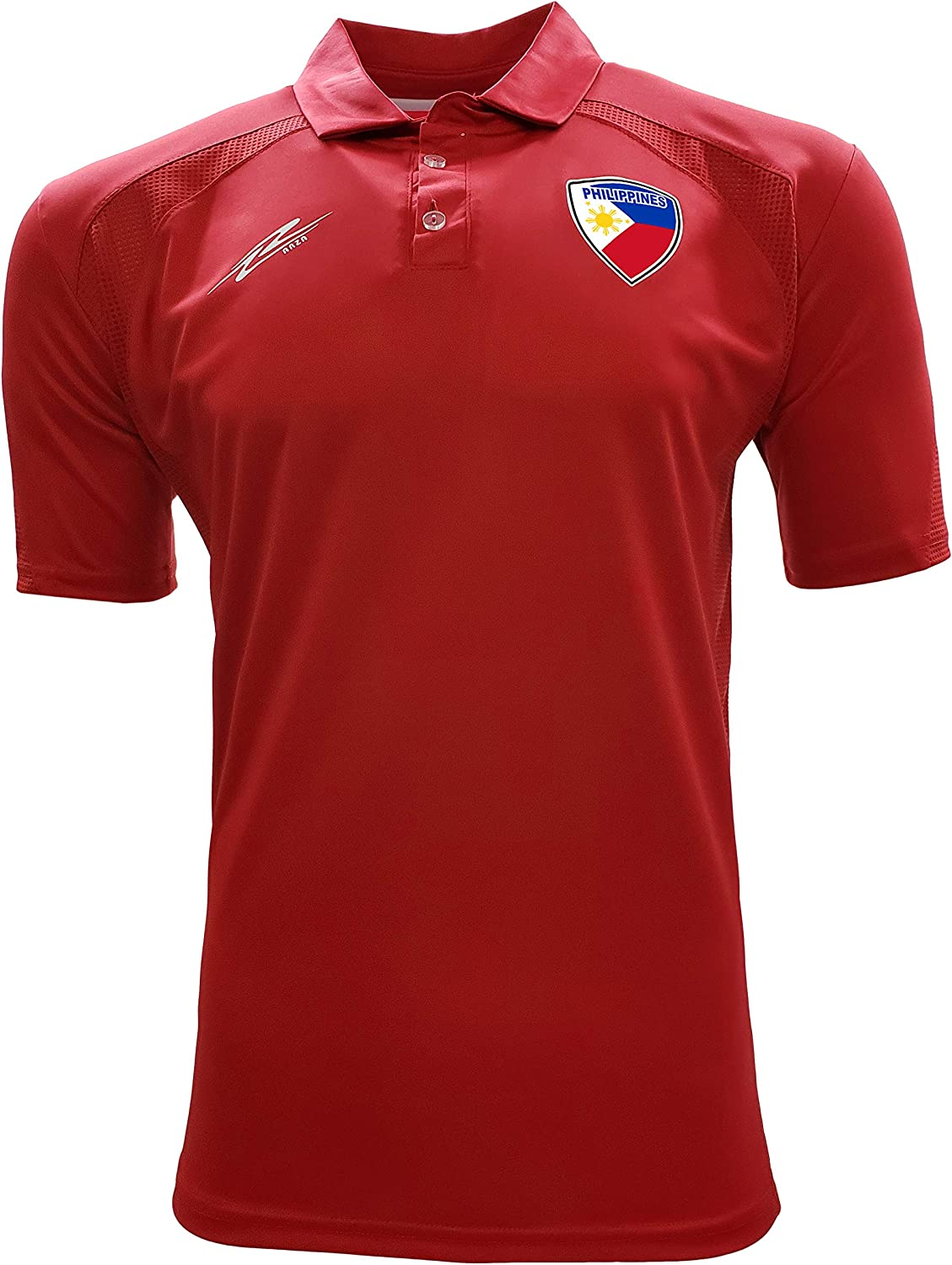 Arza Sports Philippines Polo Shirt for Men Color Black/White/Red/Blue/Burgundy