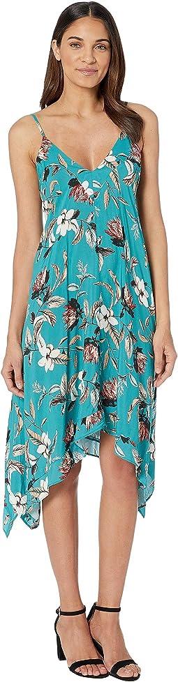 Desert Flower Flowy Midi Dress