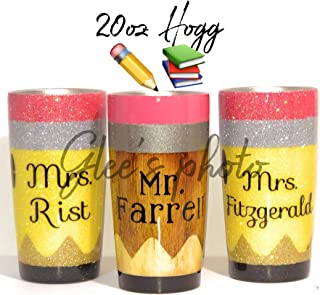 glitter crayon tumbler