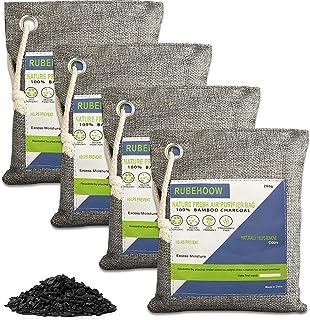 Geactiveerde houtskool luchtzuiverende zak, natuur frisse luchtreiniger zakken, 4 Pack geurverwijderaars voor thuis, actie...